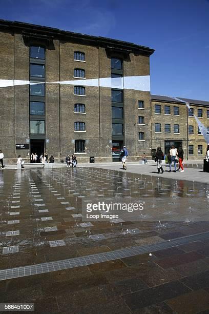 The Central Saint Martins college in Granary Square