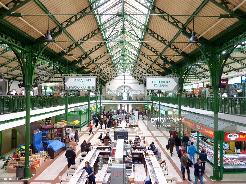 The Central Sofia Market Hall : Nieuwsfoto's