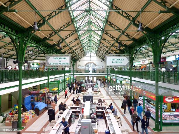 CONTENT] The Central Sofia Market Hall known popularly simply as The Market Hall is a covered market in the centre of Sofia the capital of Bulgaria...