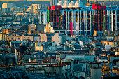 THe Centre Georges Pompidou, Paris, France