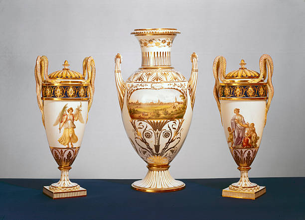Group Of Meissen Vases C 1820 Pictures Getty Images