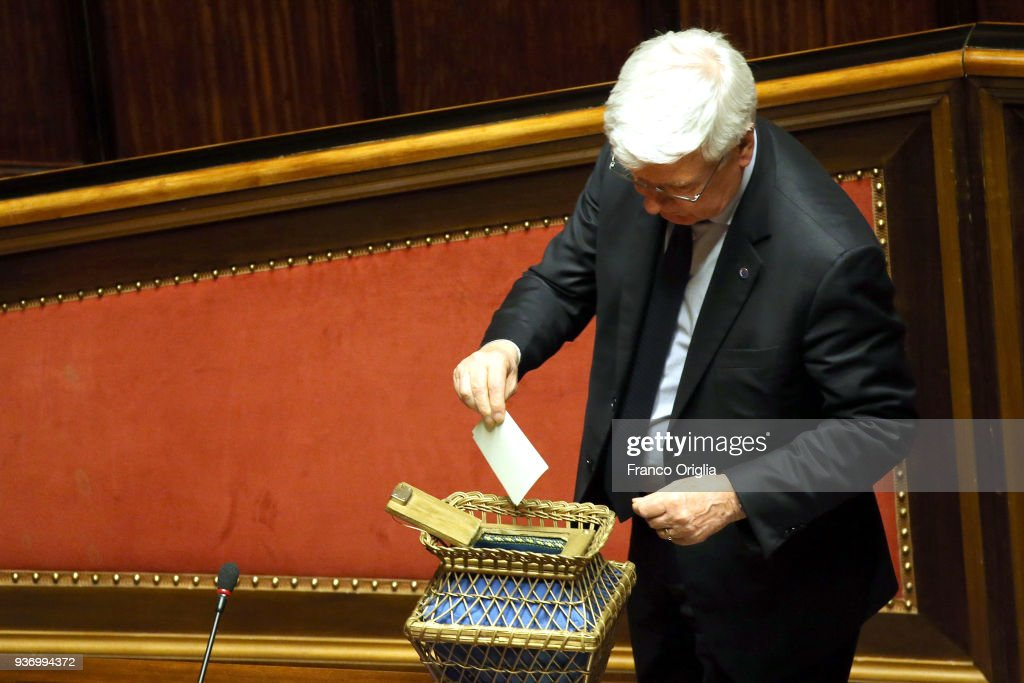 Italy's Senate Holds First Session