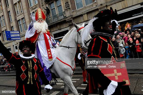 The centuries old tradition from which the mythical Santa Claus is derived Sinterklaas born in 280 Sint Nicolaas or Saint Nicolas a bishop from...