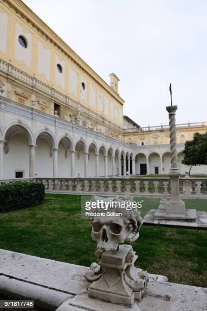 The Certosa di San Martino is a former monastery complex, now a museum in Naples on January 08 Italy.