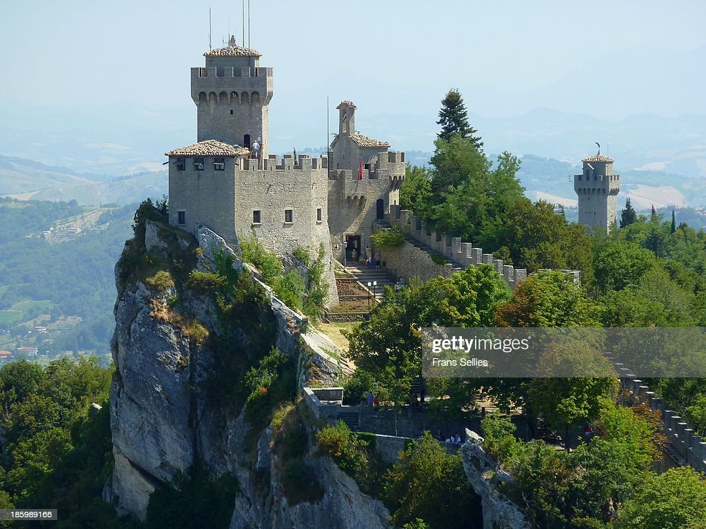 The Cesta tower in San Marino : Nieuwsfoto's