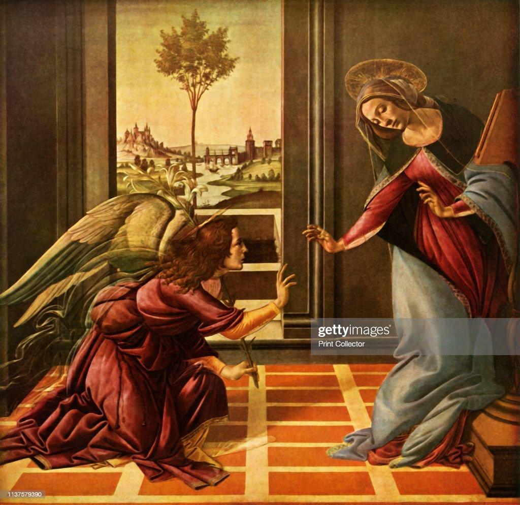 The Cestello Annunciation : News Photo
