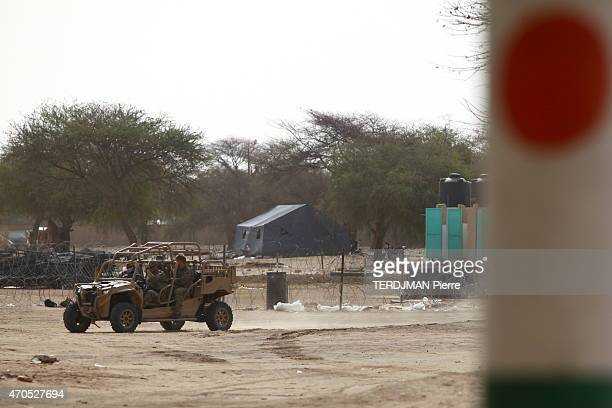 The Chadian and Nigerien army against the islamists of Boko Haram in Nigeria on the military base of Diffa in Niger US instructors will lead to fire...