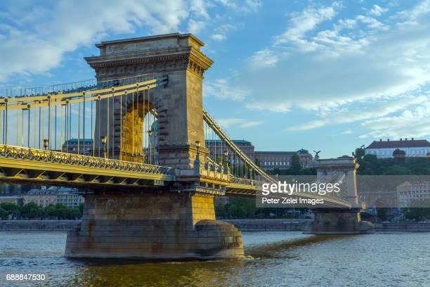 The Chain Bridge of Budapest, Hungary