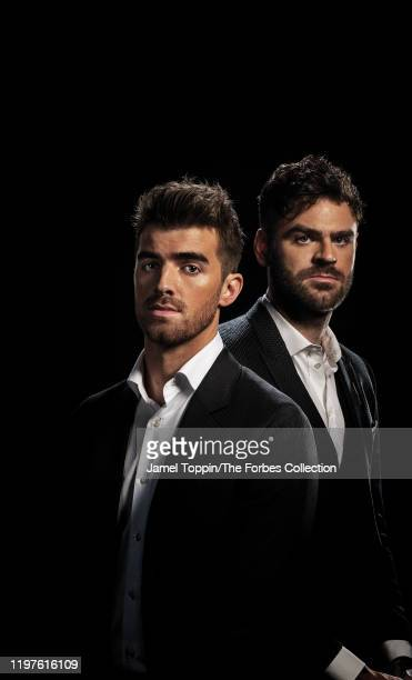 The Chainsmokers are photographed for Forbes Magazine on October 29 2019 in New York City COVER IMAGE CREDIT MUST READ Jamel Toppin/The Forbes...