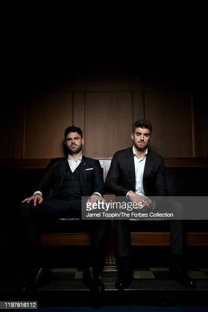 The Chainsmokers are photographed for Forbes Magazine on October 29 2019 in New York City PUBLISHED IMAGE CREDIT MUST READ Jamel Toppin/The Forbes...