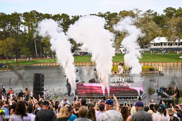 The Chainsmokers perform during the Military Appreciation Day Ceremony and Concert for THE PLAYERS Championship on The Stadium Course at TPC Sawgrass...