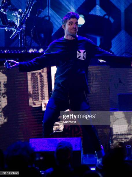 The Chainsmokers perform during the Q102's iHeartRadio Jingle Ball 2017 at the Wells Fargo Center in Philadelphia PA on December 6 2017