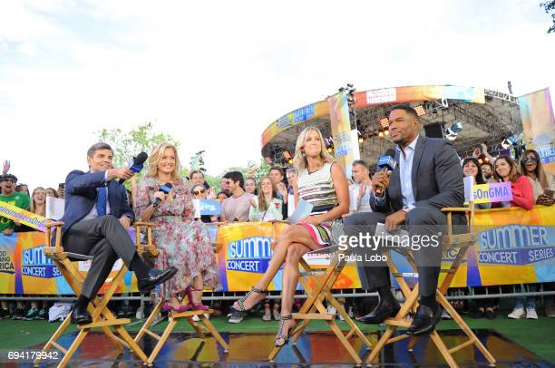 AMERICA The Chainsmokers perform live from Central Park as part of the Summer Concert Series on Good Morning America Friday June 9 airing on the Walt...