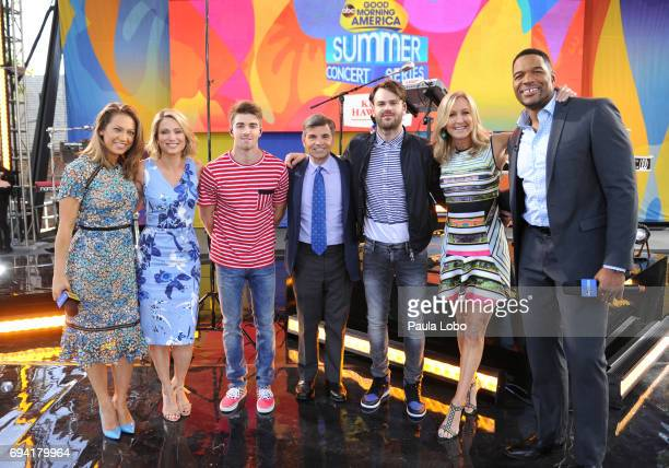 AMERICA The Chainsmokers perform live from Central Park as part of the Summer Concert Series on 'Good Morning America' Friday June 9 airing on the...
