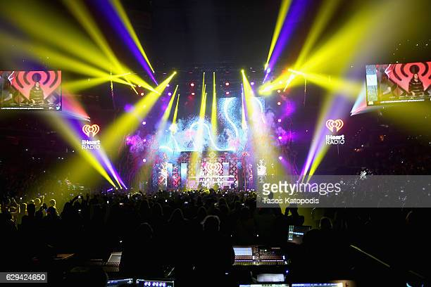 The Chainsmokers perform onstage at Hot 995's Jingle Ball 2016 at Verizon Center on December 12 2016 in Washington DC