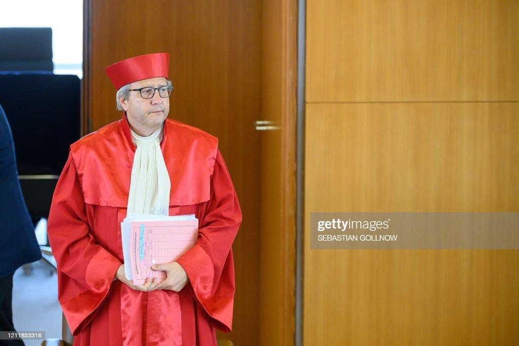 GERMANY-EU-EUROZONE-ECB-COURT : News Photo