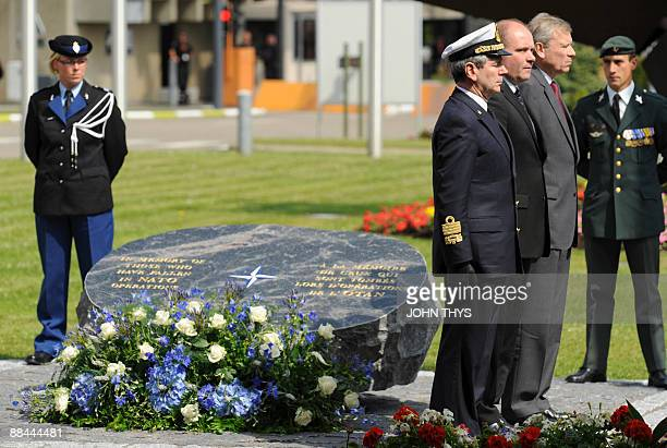 The chairman of the North Atlantic Treaty Organization Military Committee, Admiral Giampaolo Di Paola , Danish Defense Minister Soren Gade and...