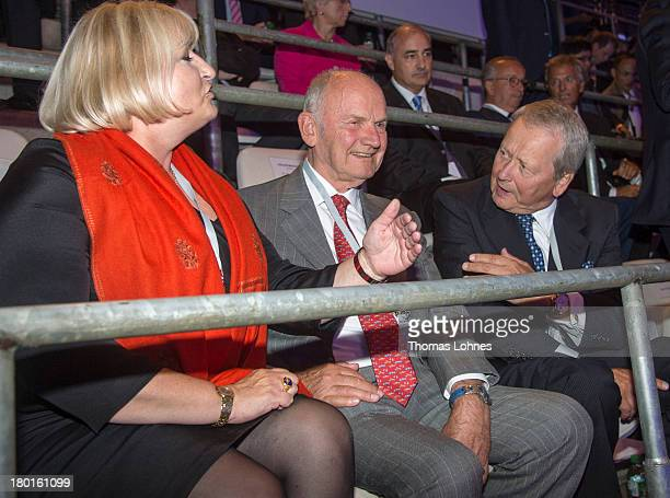 The chairman of the supervisory board of Volkswagen AG Ferdinand Piech Ursula Piech and the chairman of the supervisory board of Porsche AG Wolfgang...