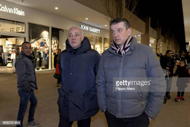 The chairman of Torino Outlet Village Antonio Percassi during the First Turin Outlet Village Anniversary on March 24 2018 in Turin Italy