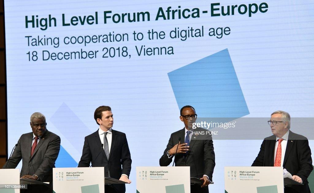 AUSTRIA-EU-AFRICA-FORUM : News Photo