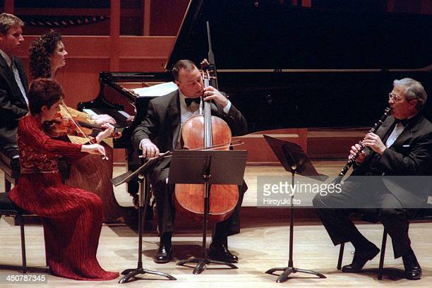 The Chamber Music Society of Lincoln Center performing at Alice Tully Hall on Monday night February 1 2000The concert is part of Crisis and...