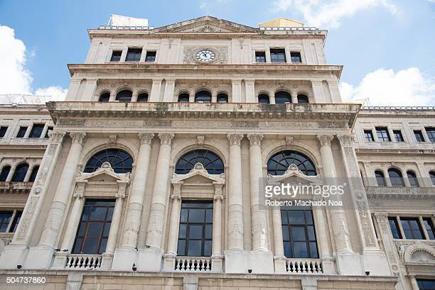 The Chamber of Commerce or Lonja de Comercio building in Old Havana Cuba served as the stock exchange in the capital until the 1959 Cuban Revolution...
