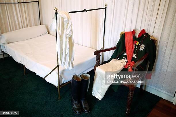 The chamber of Napoleon on october 08 2015 in SaintHelene Island United Kingdom