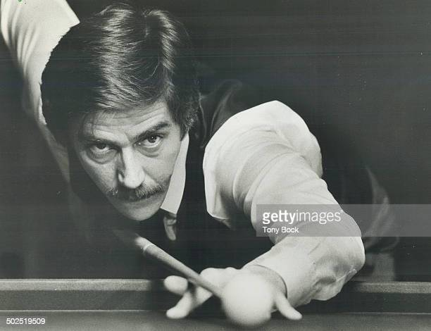 The champ Cliff Thorburn takes aim en route to his victory in the Canadian Professional Snooker Championship earlier this month Reader says more...