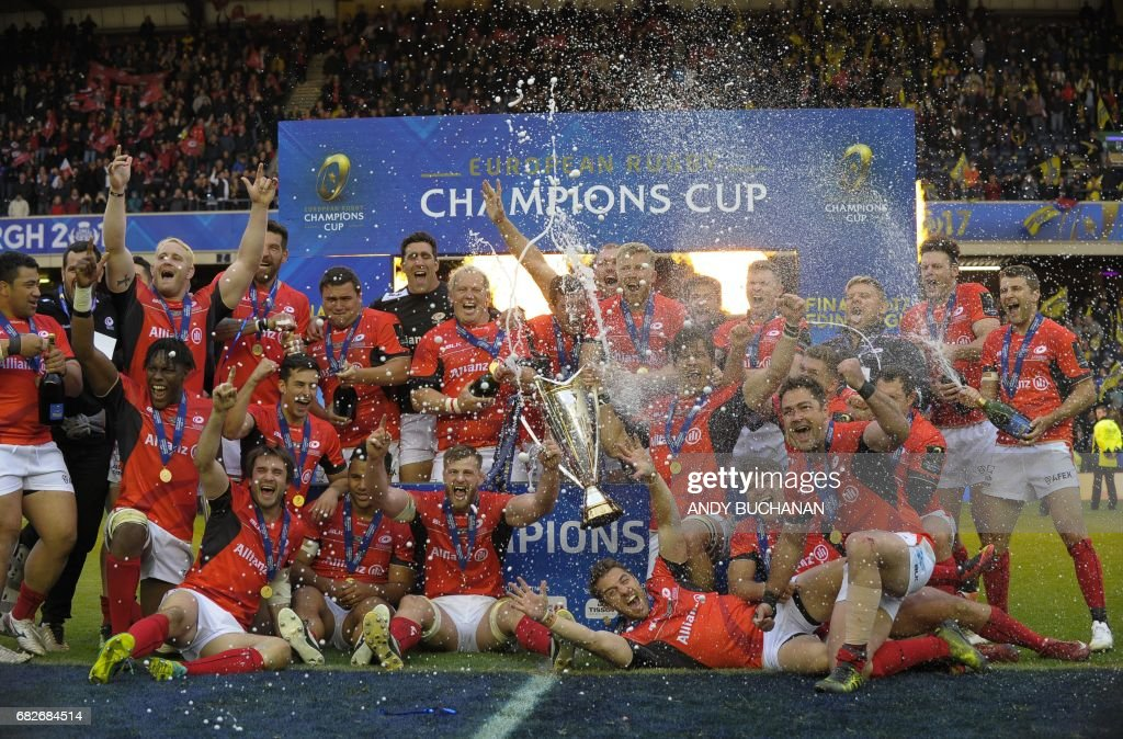 RUGBYU-EUR-CUP-SARACENS-CLERMONT : News Photo
