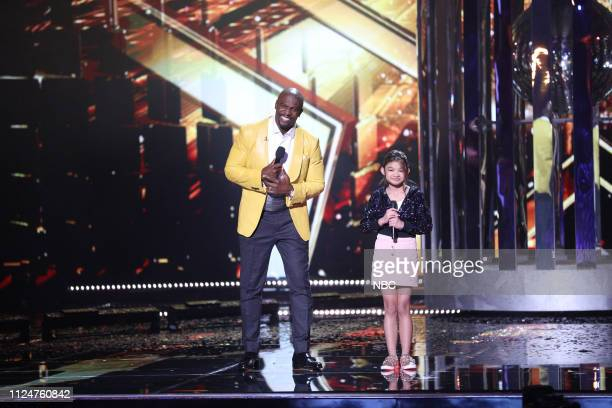 THE CHAMPIONS 'The Champions Finals' Episode 106 Pictured Terry Crews Angelica Hale