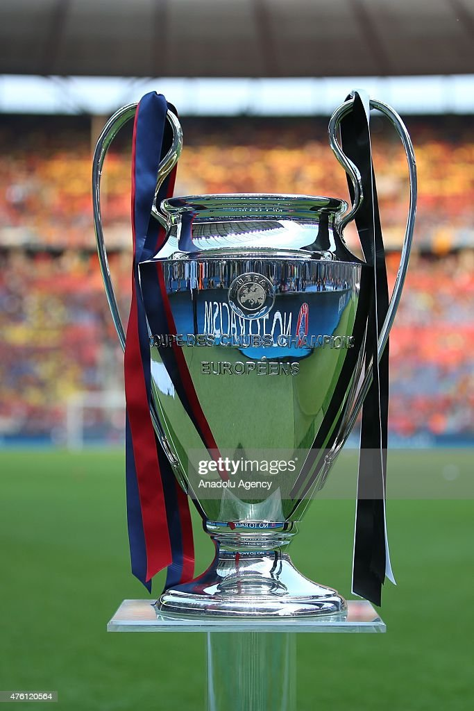 The Champions League Trophy Is Displayed Prior To UEFA Final Between Juventus And
