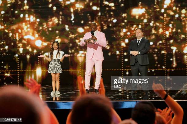 THE CHAMPIONS 'The Champions Three' Episode 103 Pictured Angelica Hale Terry Crews Paul Potts