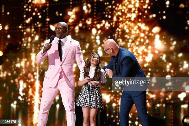 THE CHAMPIONS 'The Champions Three' Episode 103 Pictured Terry Crews Angelica Hale Howie Mandel