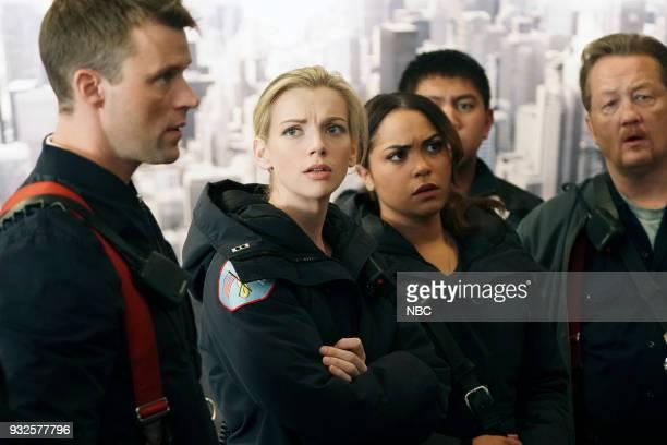 FIRE 'The Chance To Forgive' Episode 615 Pictured Jesse Spencer as Matthew Casey Kara Killmer as Sylvie Brett Monica Raymund as Gabriela Dawson...