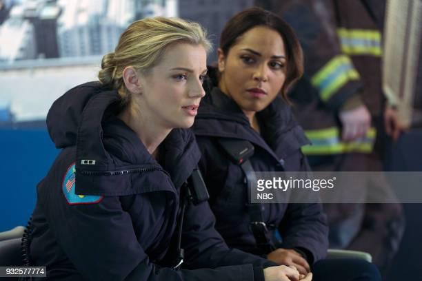 FIRE 'The Chance To Forgive' Episode 615 Pictured Kara Killmer as Sylvie Brett Monica Raymund as Gabriela Dawson