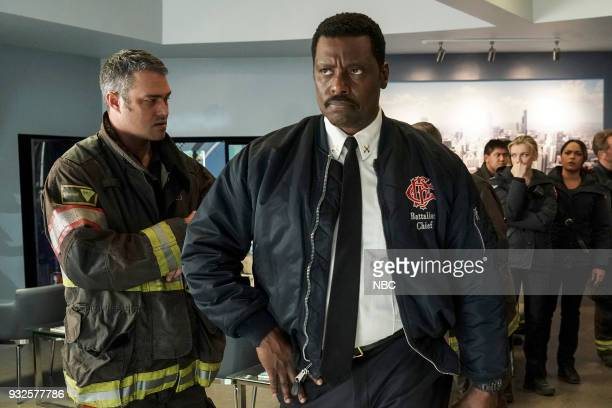 FIRE 'The Chance To Forgive' Episode 615 Pictured Taylor Kinney as Kelly Severide Eamonn Walker as Wallace Boden