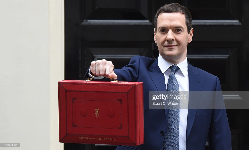 The First Conservative Budget Since The Election : News Photo