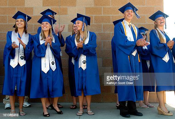 QUINTS_KSO_5_24_08194 The Chandler quintuplets of ErieCO graduate from Peak to Peak High School in Lafayette on Saturday May 24 2008 The Chandler...