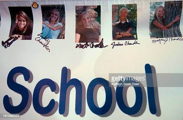 The Chandler quintuplets of Erie,CO graduate from Peak to Peak High School in Lafayette on Saturday, May 24, 2008. The Chandler siblings, four girls...