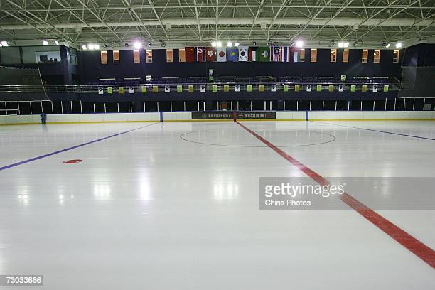 The Changchun Fuao Ice Hockey Rink a venue for the 6th Asian Winter Games is seen January 17 2007 in Changchun Jilin Province China The 6th Asian...