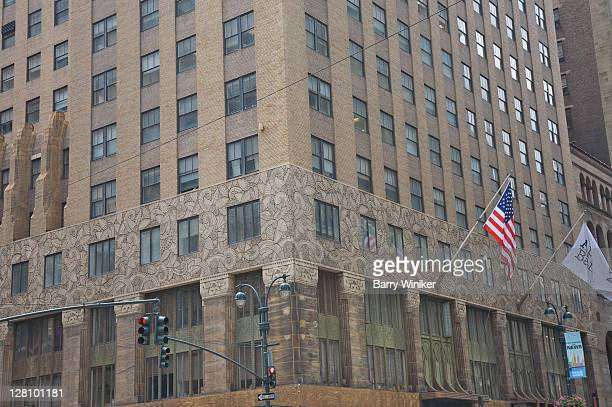 the chanin building, 122 e. 42 street, new york, ny - 1920 1929 stock pictures, royalty-free photos & images