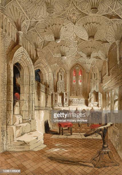 The Chantry Capel Collegiate Church of St Mary Warwick England This chapel adjoins the Beauchamp Chapel where the effigial monument of Robert Dudley...