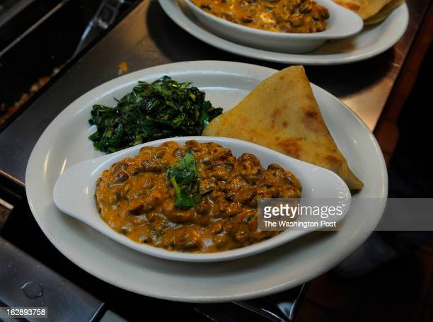 The Chapati flatbread comes with beans simmered in a coconutcurry sauce with African spices and kale Swahili Village chef and owner Kevin Onyona...