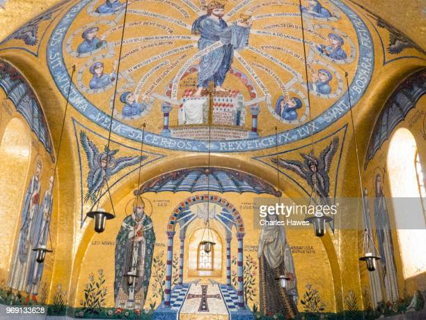 The chapel of tears. Mont Saint Odile Abbey.Images taken in the Alsace Region of France between Andlau and Obernai
