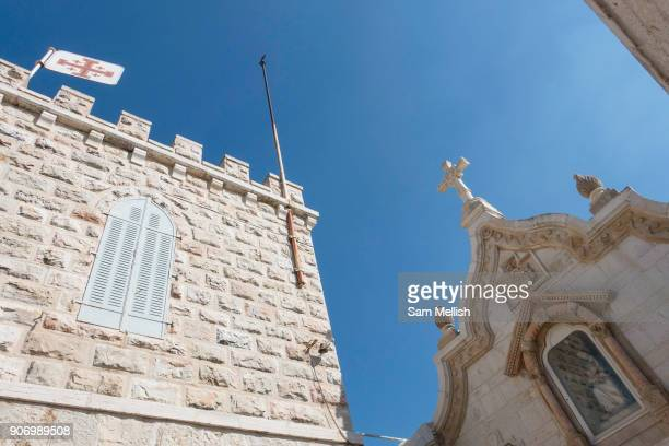 The Chapel of the Milk Grotto also called Milk Grotto or Grotto of Our Lady on 1st April 2016 in Bethlehem West Bank The The Chapel of the Milk...