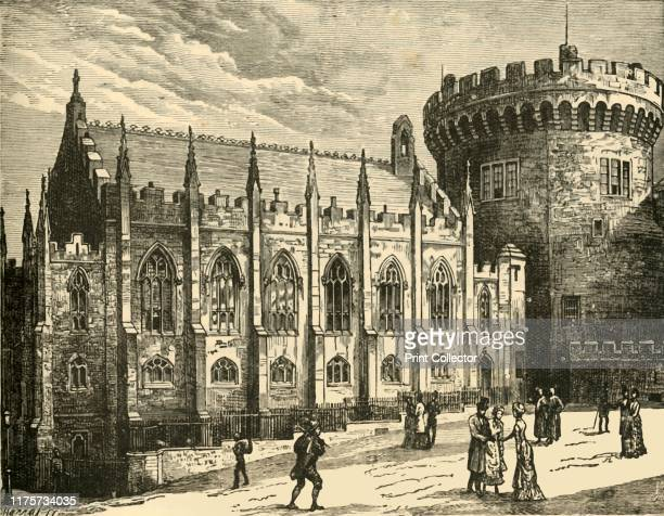 The Chapel Royal Dublin Castle' 1898 From Our Own Country Volume I [Cassell and Company Limited London Paris Melbourne 1898] Artist Unknown