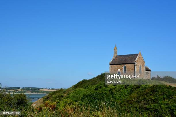 the chapel st mauritus brittany - chapel stock pictures, royalty-free photos & images
