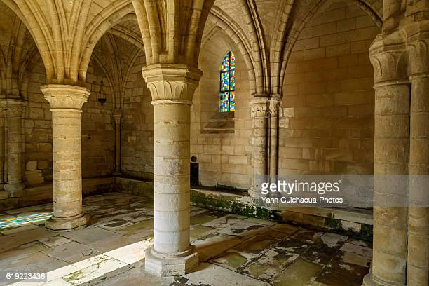 the chapter house, Saint Jean au Bois, forest of Compiegne, Oise,Picardy, France