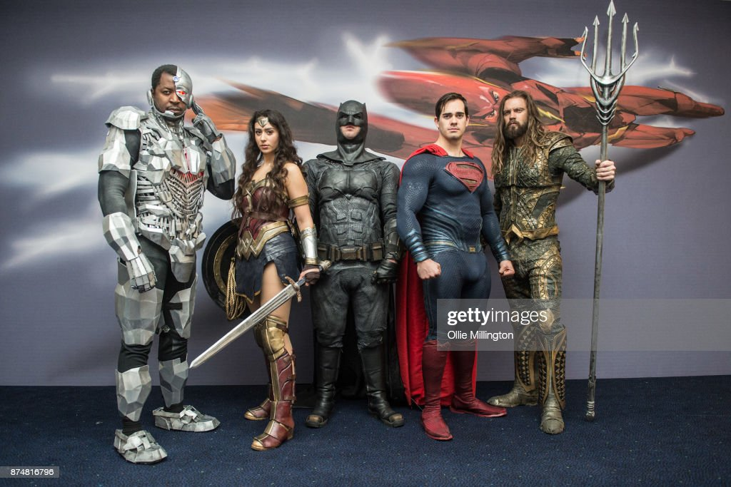 Justice League Photocall : News Photo