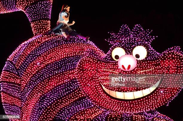 The character of Mickey Mouse is featured during the quotElectrical Parade Dreamlightsquot at Tokyo Disneyland in Urayasu east of Tokyo on Sept 24...